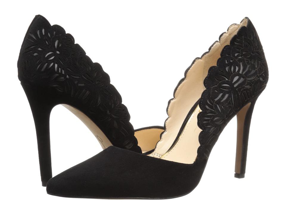 Jessica Simpson - Cassel (Black Lux Kid Suede) High Heels