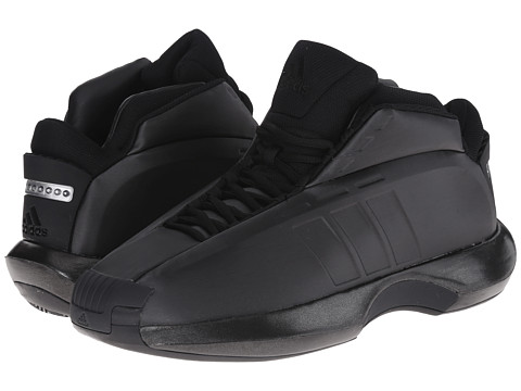 adidas - Crazy 1 (Black/Black) Men
