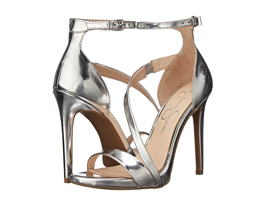 Jessica Simpson - Rayli (Silver Liquid Metallic) High Heels