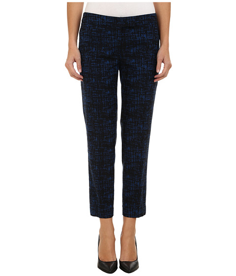 Anne Klein - Bowie Twill Pants (Black/Raven Blue Combo) Women