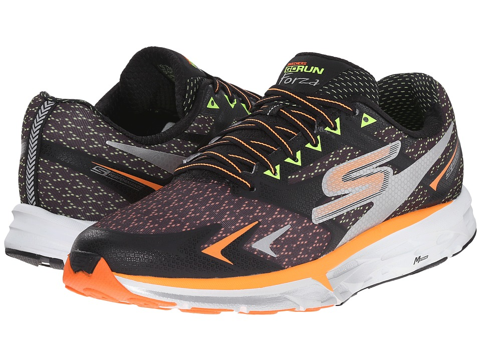 SKECHERS Go Run Forza (Black/Orange) Men