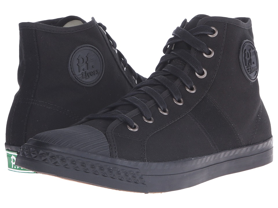 PF Flyers - Rambler (Black Canvas 1) Men's Lace up casual Shoes