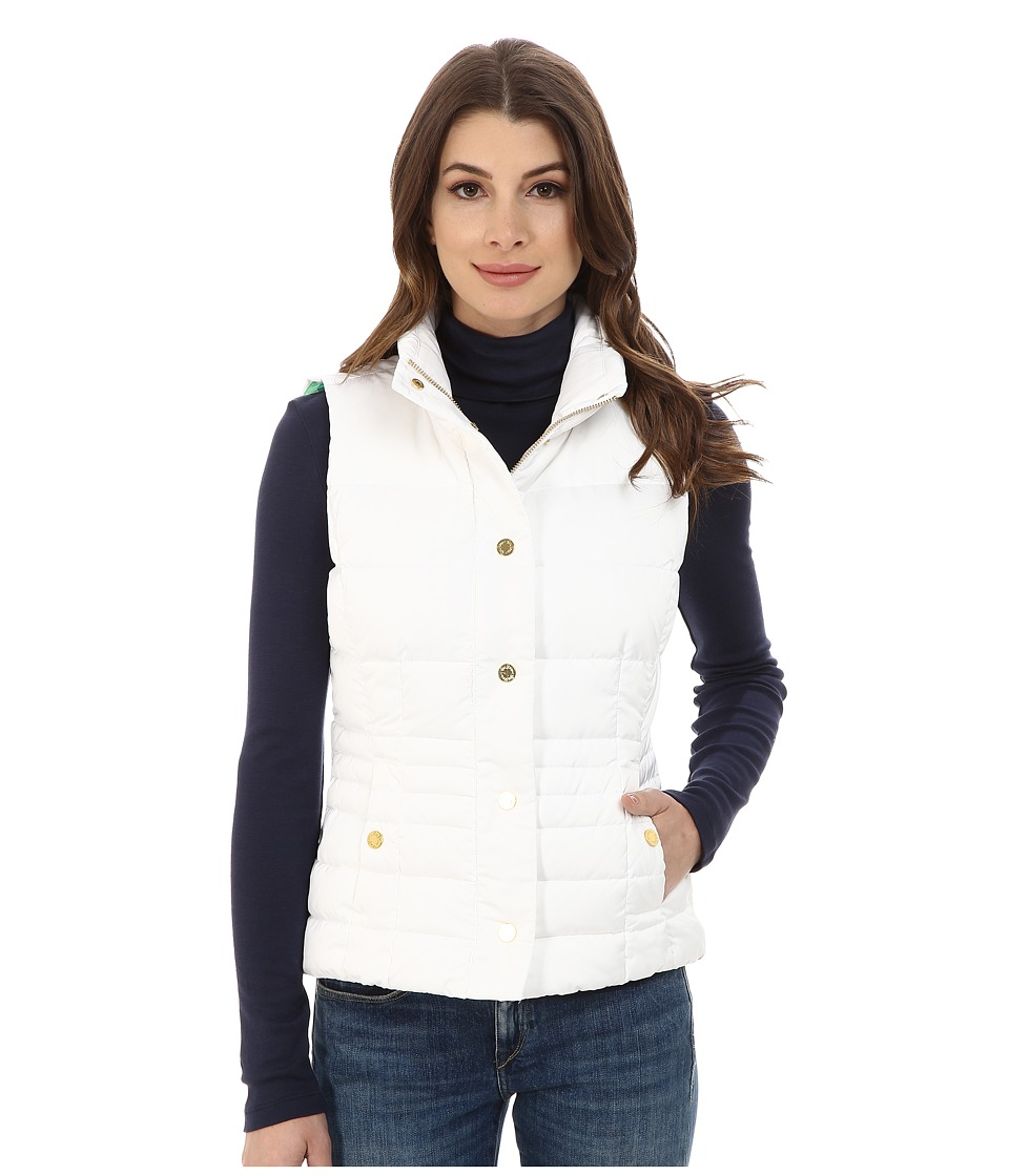 Lilly Pulitzer - Isabelle Vest (Resort White) Women's Vest