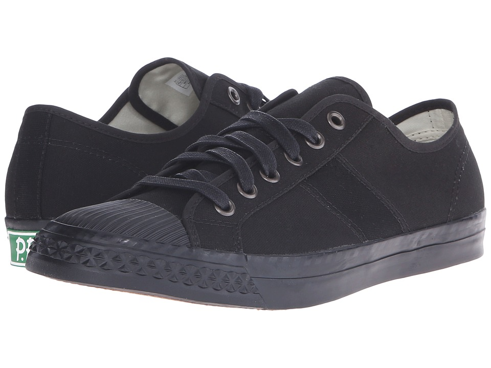 PF Flyers - Rambler Lo (Black Canvas 1) Men's Lace up casual Shoes