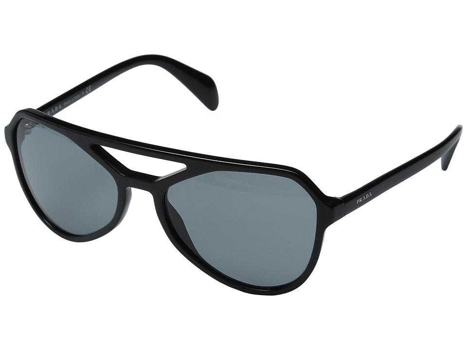 Prada - 0PR 22RS (Black/Dark Grey) Fashion Sunglasses
