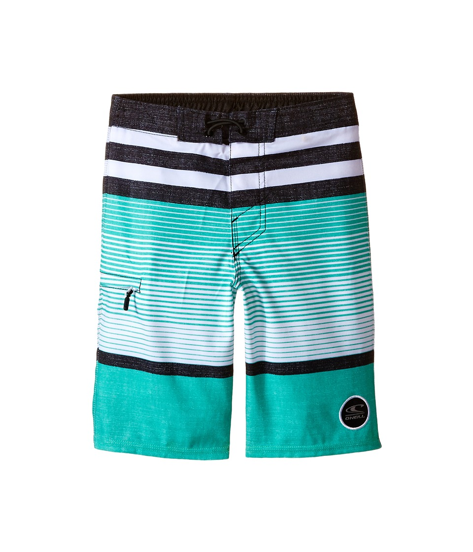 O'Neill Kids - Heist (Little Kids) (Jade) Boy's Swimwear