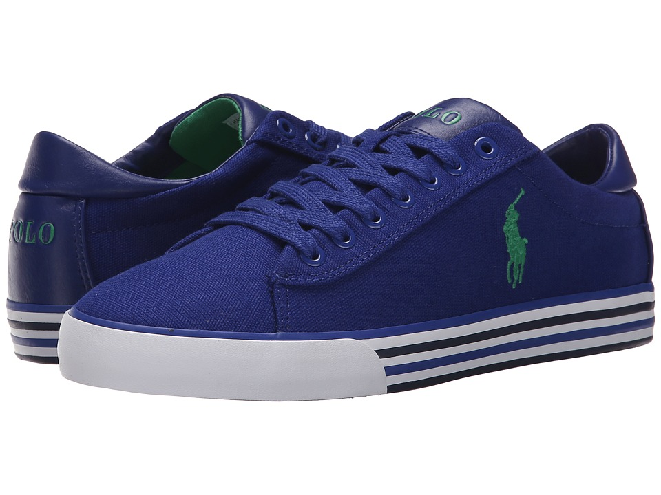 Polo Ralph Lauren - Harvey (Foster Blue) Men's Lace up casual Shoes