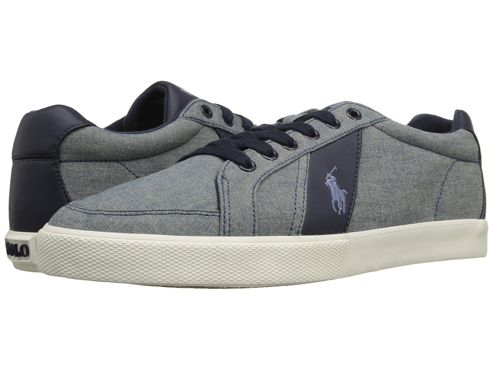 Polo Ralph Lauren - Hugh (Blue) Men's Lace up casual Shoes