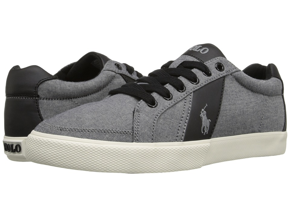 Polo Ralph Lauren - Hugh (Grey) Men's Lace up casual Shoes