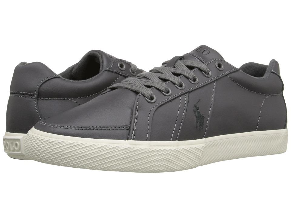 Polo Ralph Lauren - Hugh (Charcoal Grey) Men's Lace up casual Shoes