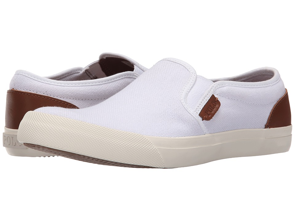 Polo Ralph Lauren - Greggory (Pure White/Polo Tan) Men