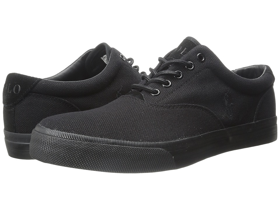 Polo Ralph Lauren - Vaughn (Polo Black) Men's Lace up casual Shoes