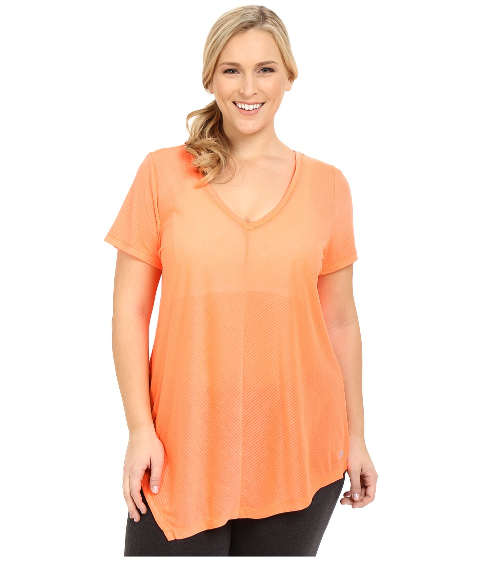 Marika Curves - Plus Size Lexington Tee (Flamewater) Women's T Shirt