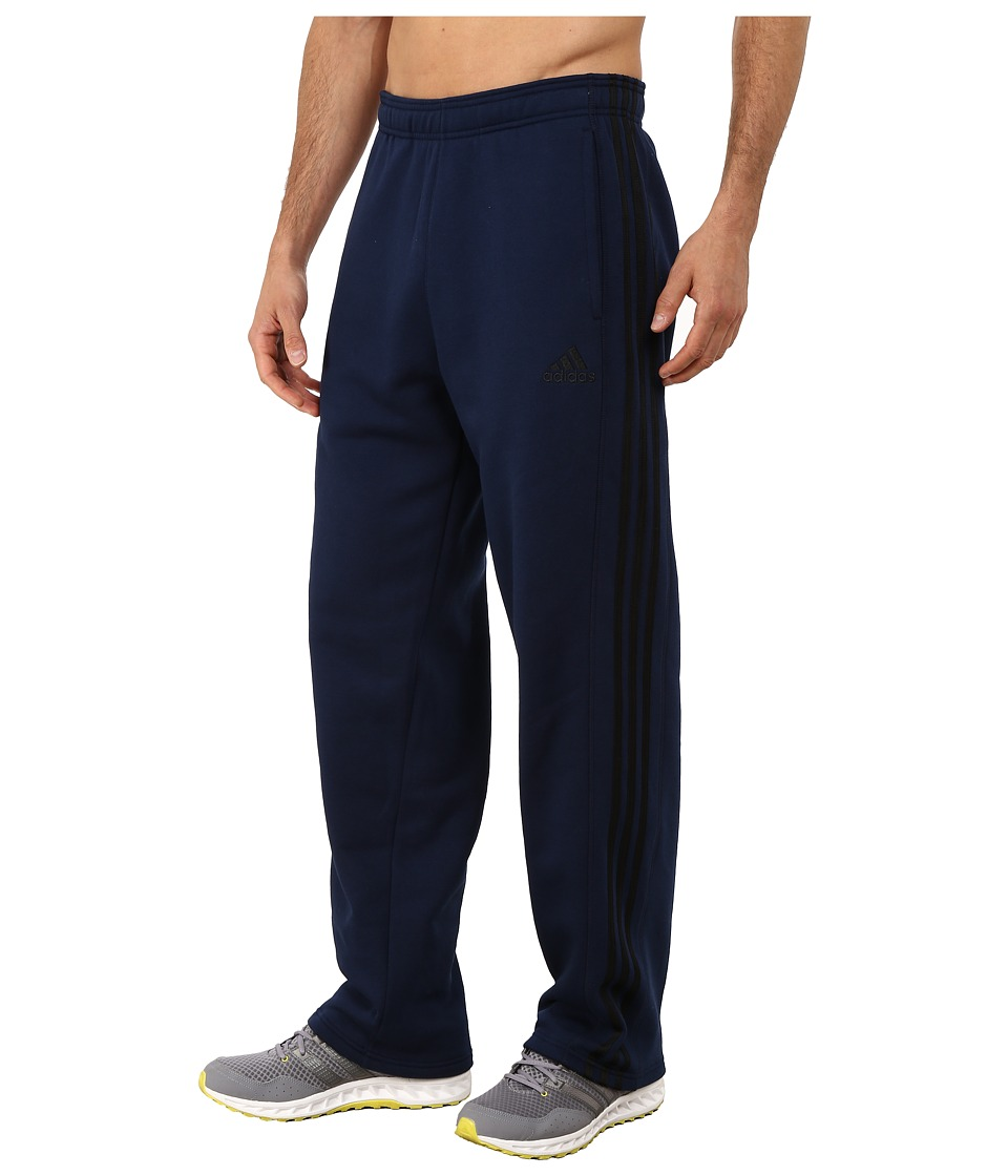 adidas - Essential Cotton Fleece Pants (Collegiate Navy Blue/Black) Men's Casual Pants