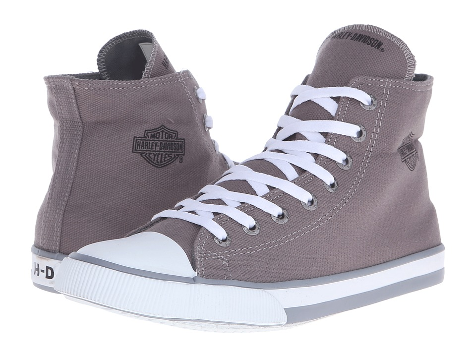Harley-Davidson - Nathan (Grey) Men's Lace up casual Shoes