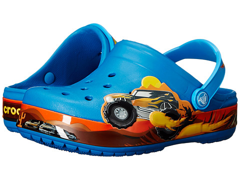 Crocs Kids - Crocband Monster Truck Clog (Toddler/Little Kid) (Ultramarine) Boys Shoes