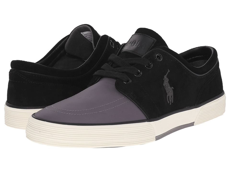 Polo Ralph Lauren Faxon Low (Charcoal Grey/Black) Men