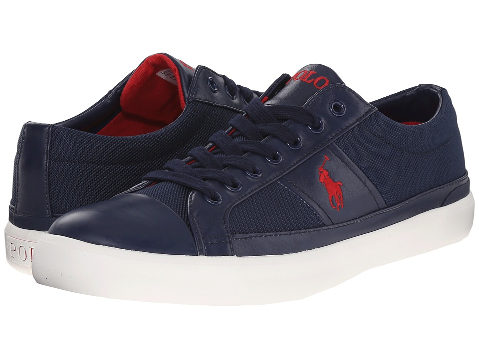 Polo Ralph Lauren - Churston (Newport Navy) Men's Lace up casual Shoes