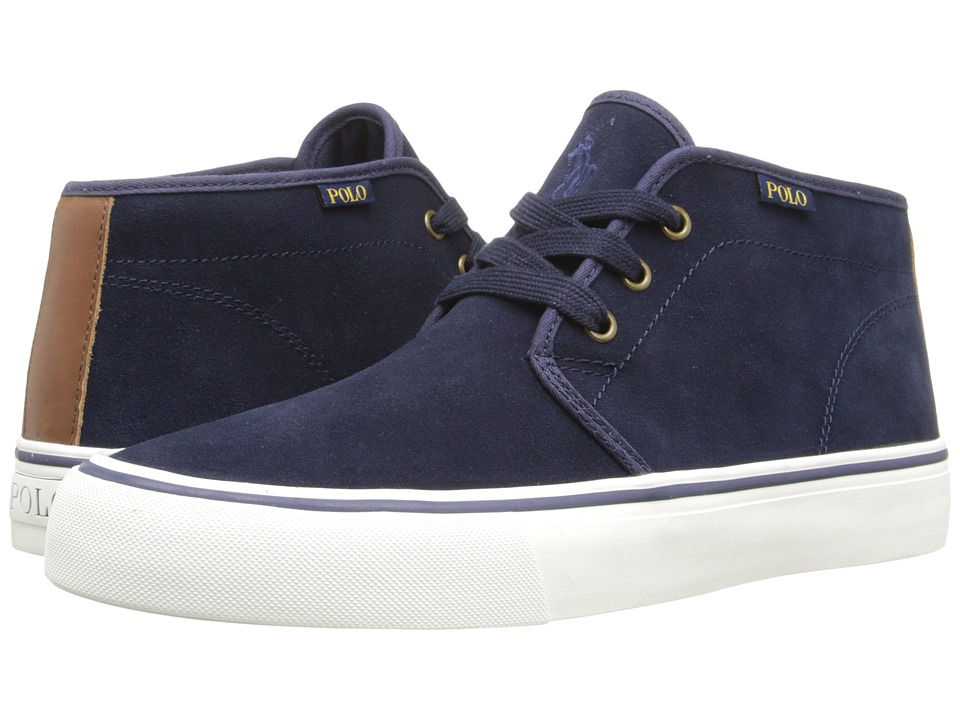 Polo Ralph Lauren - Maykn (Newport Navy/Polo Tan) Men's Shoes