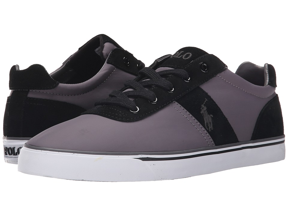 Polo Ralph Lauren Hanford (Charcoal Grey/Black) Men\u0026#39;s Lace up casual Shoes