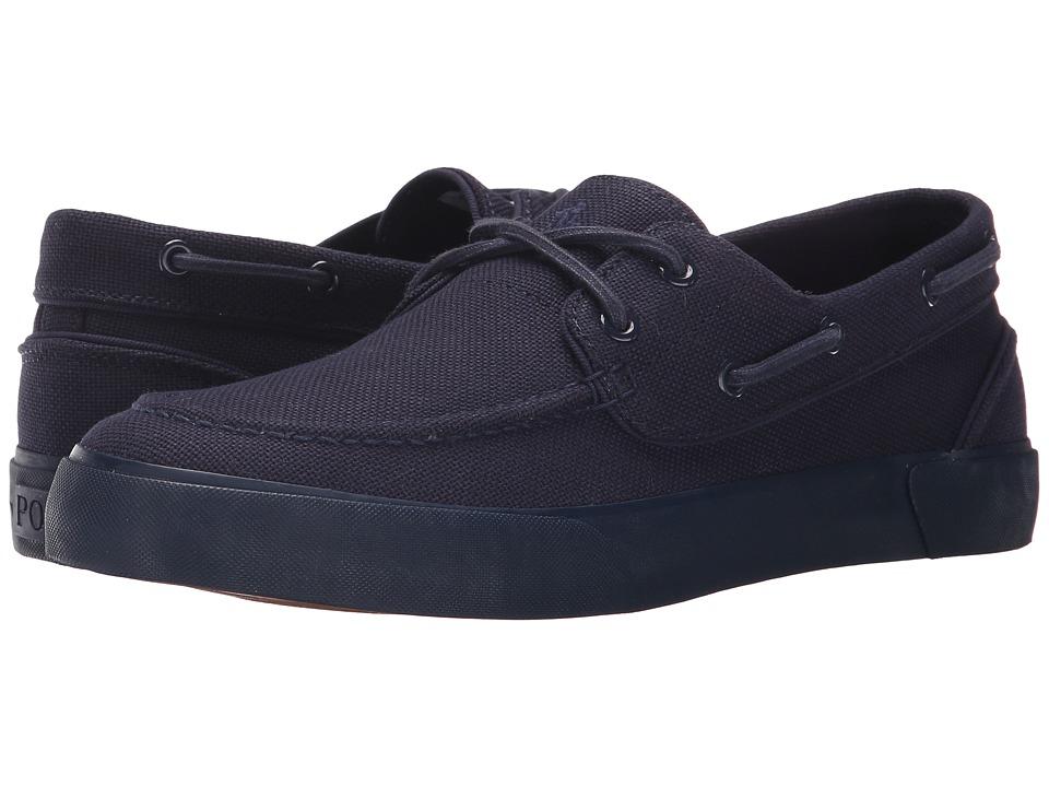 Polo Ralph Lauren - Lander P (Newport Navy) Men's Lace up casual Shoes