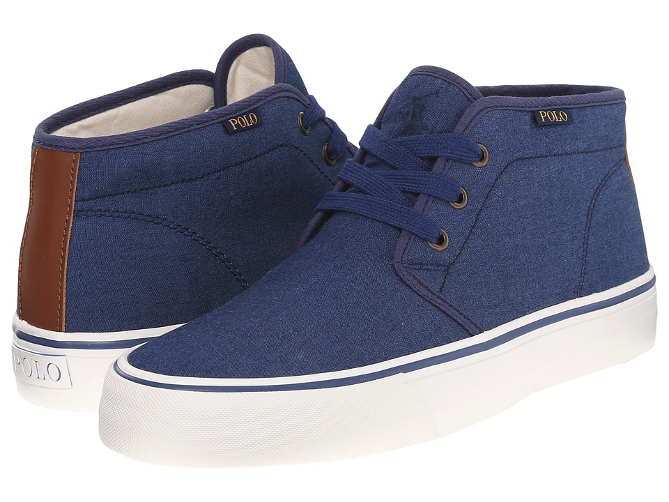 Polo Ralph Lauren - Maykn (Dark Indigo/Polo Tan) Men's Shoes
