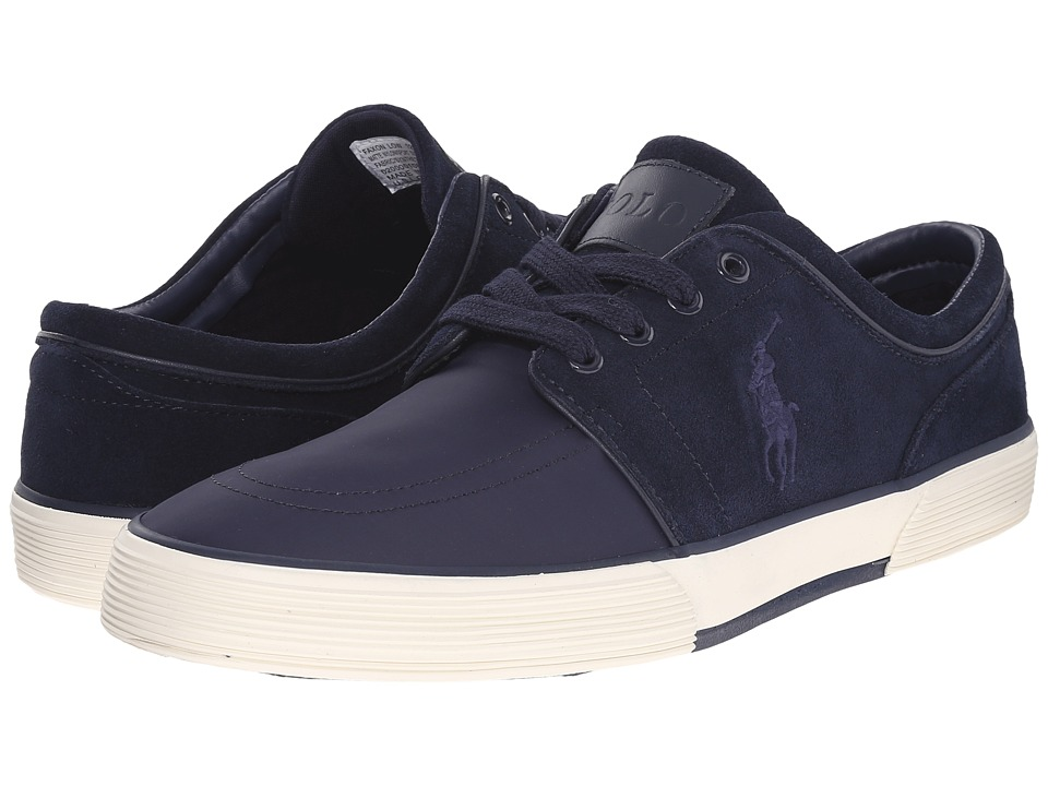 Polo Ralph Lauren - Faxon Low (Newport Navy/Newport Navy) Men's Lace up casual Shoes