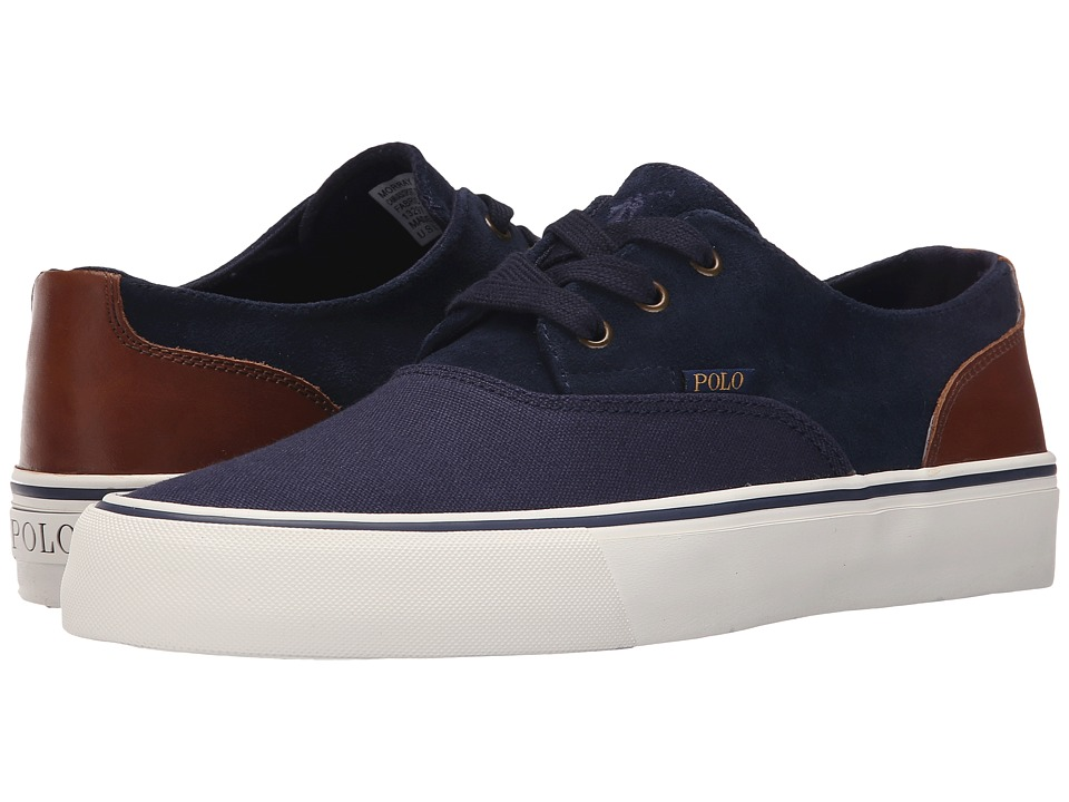 Polo Ralph Lauren - Morray II (Newport Navy/Polo Tan) Men's Shoes