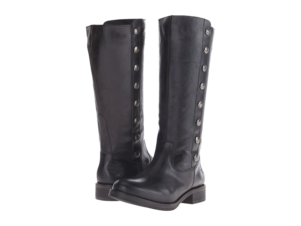 Harley-Davidson - Capstan (Black) Women's Pull-on Boots
