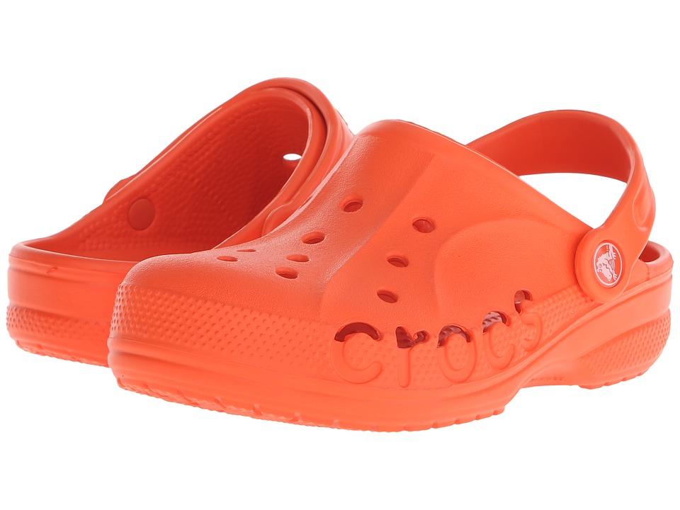 Crocs Kids - Baya (Toddler/Little Kid) (Tangerine) Kids Shoes