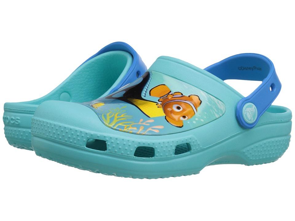 Crocs Kids - Finding Dory Clog (Toddler/Little Kid) (Pool) Kids Shoes