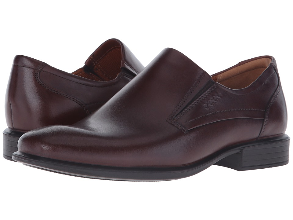 ECCO - Cairo Perforation Slip-On (Rust) Men