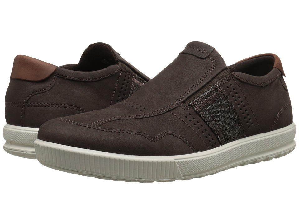 ECCO - Ennio Urban Slip-On (Coffee/Cognac) Men