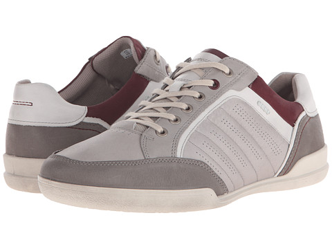 ECCO - Enrico Trend Sneaker (Wild Dove/Wild Dove/Shadow White) Men's Lace up casual Shoes