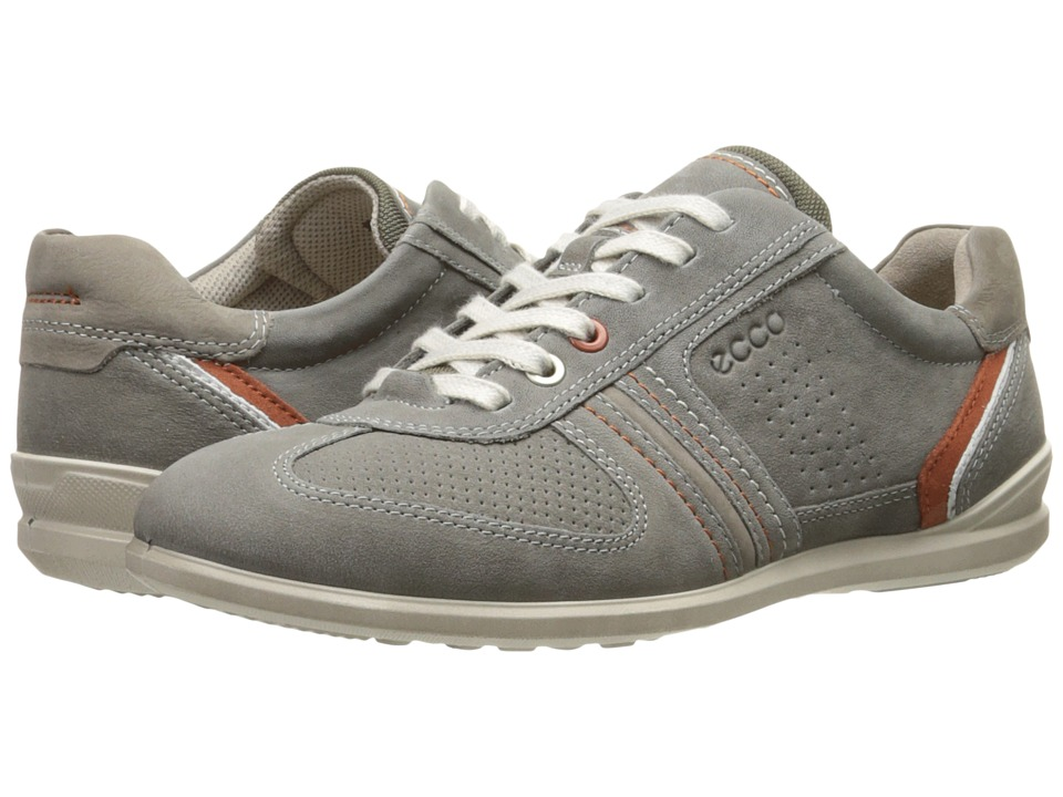 ECCO - Chander Tie (Warm Grey/Moon Rock) Men's Lace up casual Shoes