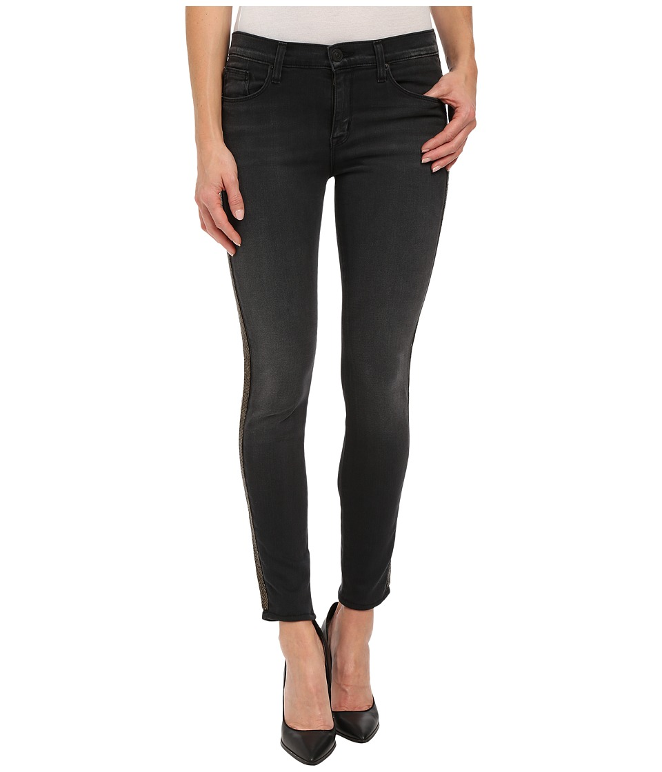 Hudson - Luna Mid-Rise Ankle Super Skinny Insert in Cosmonaut Grey (Cosmonaut Grey) Women's Jeans