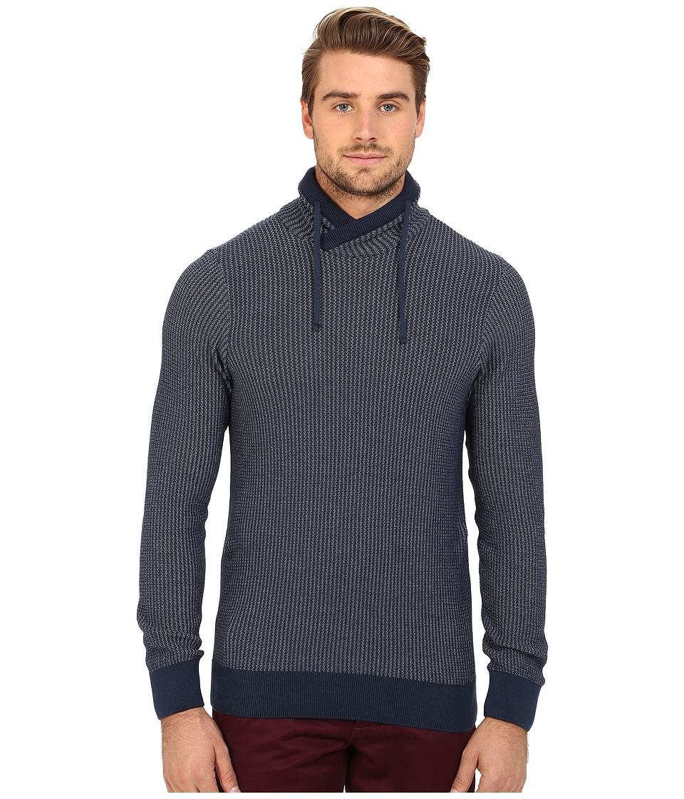 Mavi Jeans - Crawl Neck Sweater (Dress Blues) Men's Sweater