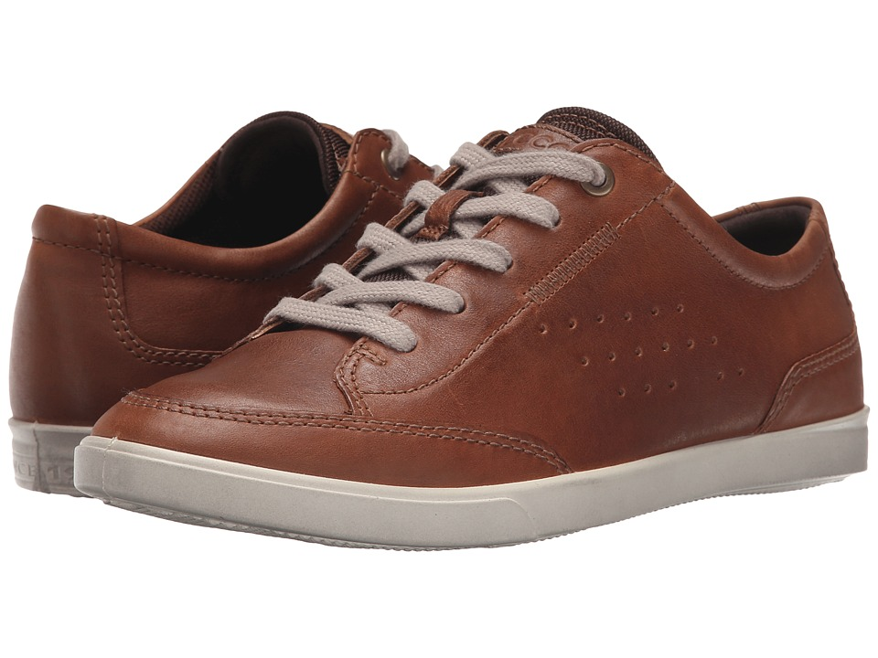 ECCO - Collin Classic Tie (Whisky Cow Nubuck) Men's Lace up casual Shoes