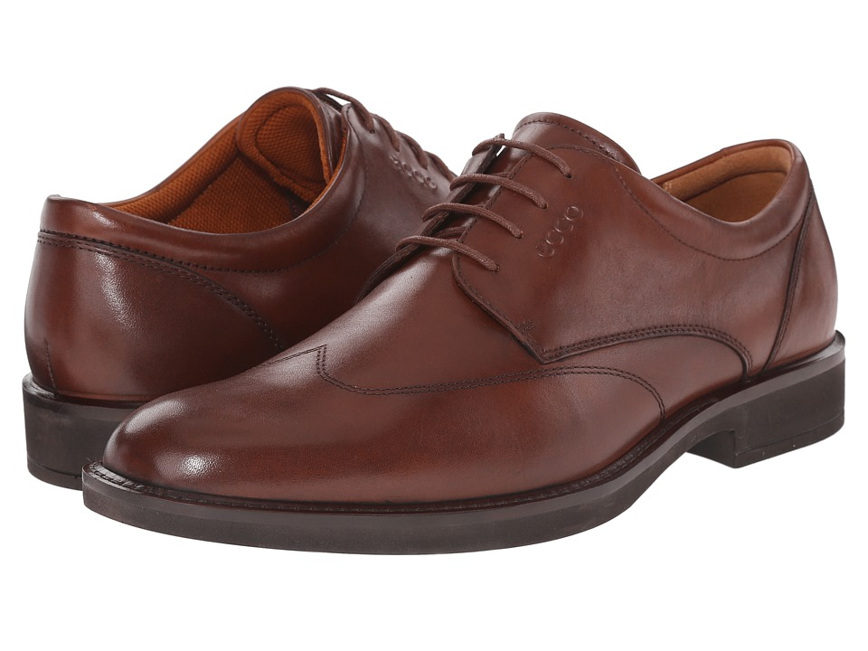 ECCO - Biarritz (Cognac Cow Leather) Men's Shoes
