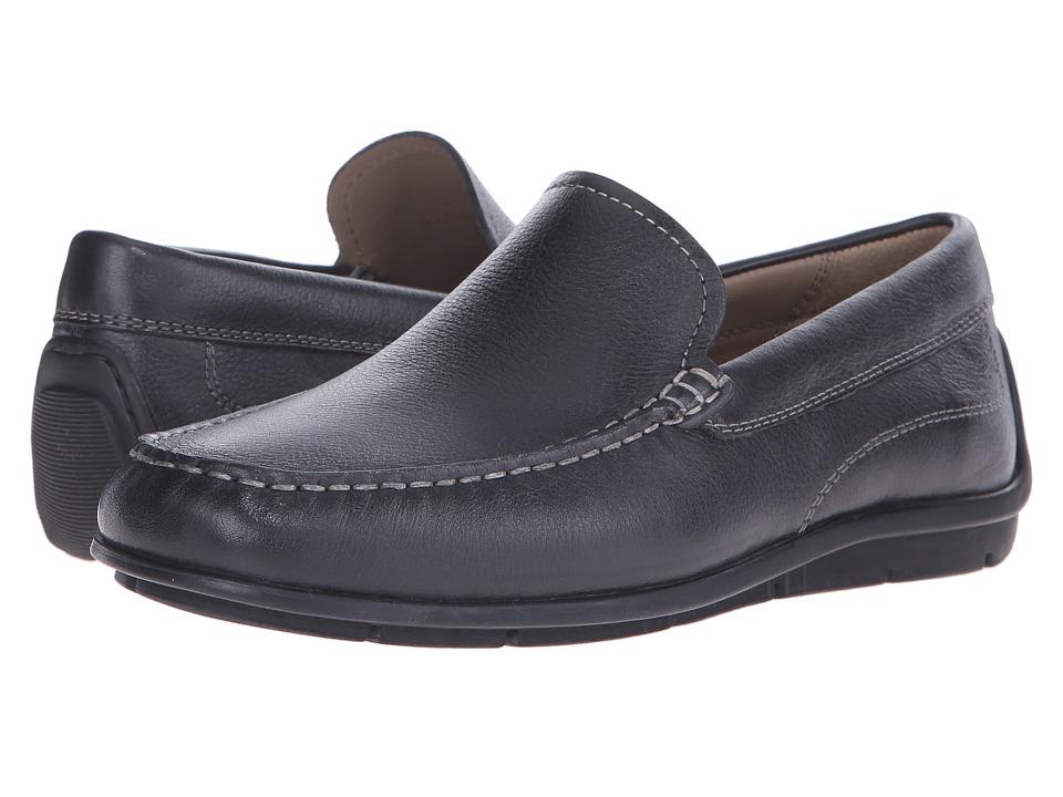 ECCO - Classic Moc (Black Cow Leather) Men's Slip on Shoes