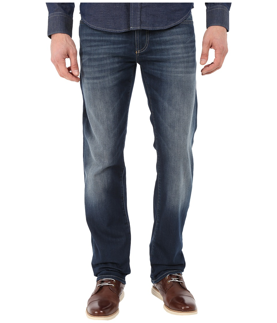 Mavi Jeans - Zach Regular Rise Straight in River Blue White Edge (River Blue White Edge) Men's Jeans
