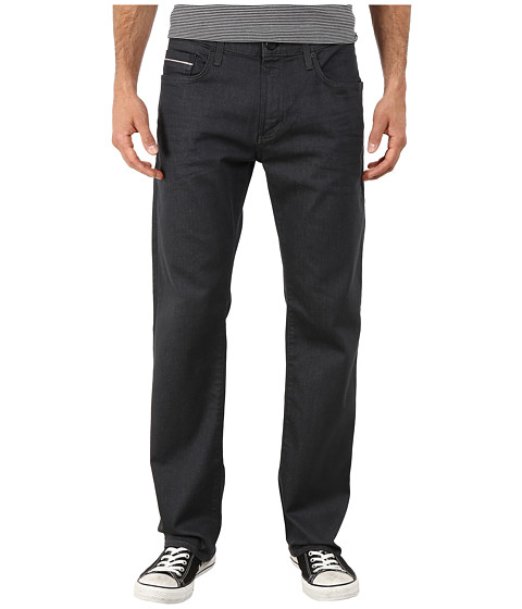 Mavi Jeans - Zach Regular Rise Straight in Smoke Coated White Edge (Smoke Coated White Edge) Men