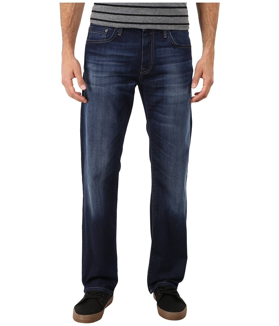 Mavi Jeans Zach Regular Rise Straight in Dark Williamsburg (Dark Williamsburg) Men