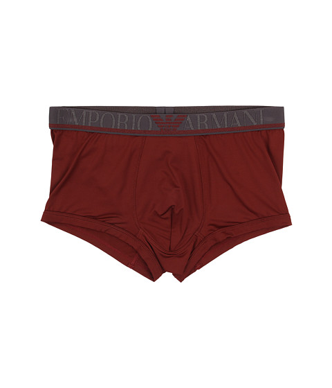 Emporio Armani - Basic Microfiber Trunk (Brick Red) Men's Underwear
