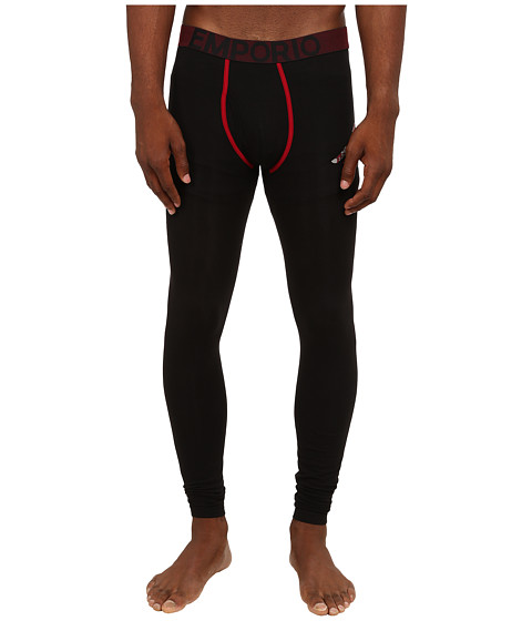 Emporio Armani - Big Eagle Leggings (Black) Men