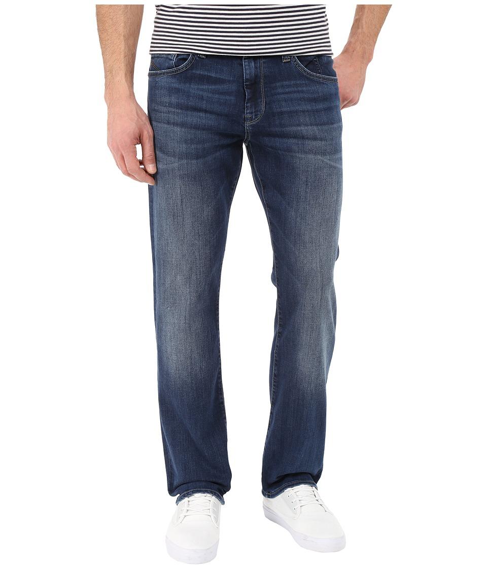 Mavi Jeans - Matt Mid-Rise Relaxed Straight in Mid Indigo Cooper (Mid Indigo Cooper) Men's Jeans