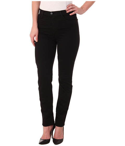 J Brand - Maria High Rise Straight in Seriously Black (Seriously Black) Women's Jeans