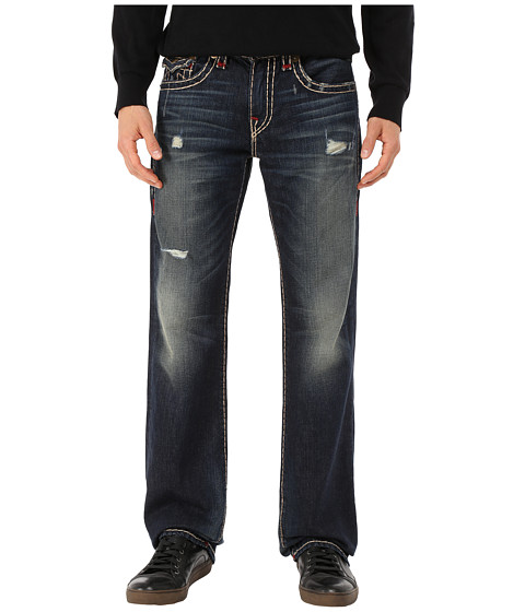 True Religion - Billy Boot Super T in Indigo Highlights (Indigo Highlights) Men's Jeans
