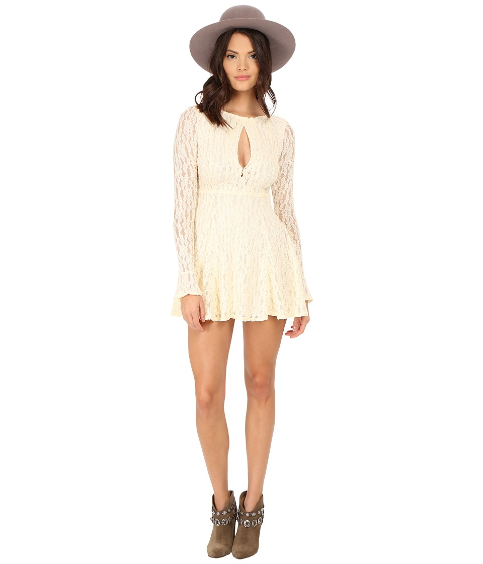 Free People - Teen Witch Lace Dress (Shearling) Women's Dress