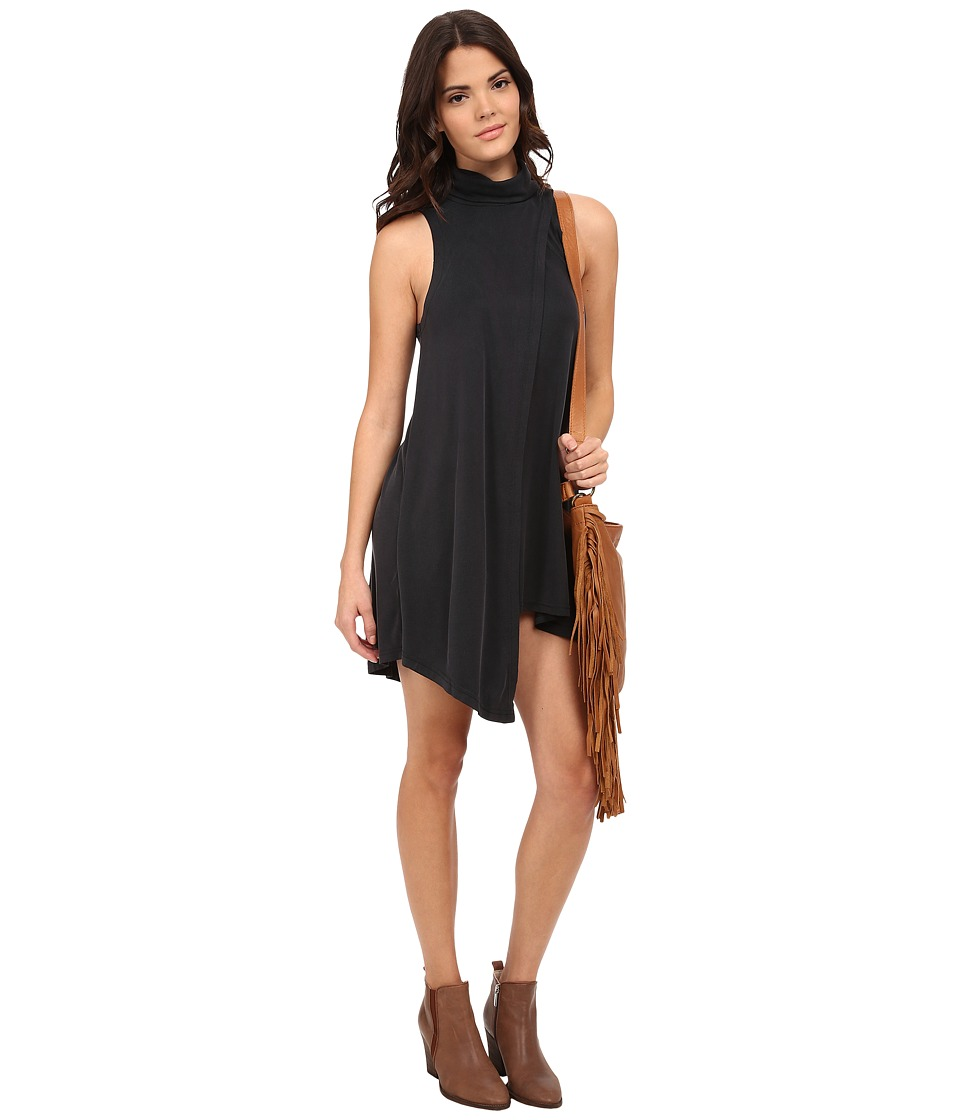 Free People - Queen Anne Dress (Black) Women's Dress